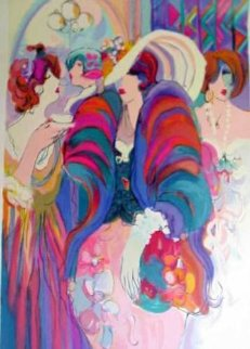 Reception 1995 50x38 Super Huge  Limited Edition Print - Isaac Maimon