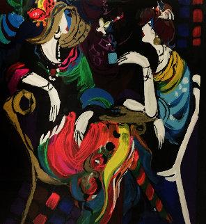 Bonne Soire 2000 Limited Edition Print - Isaac Maimon
