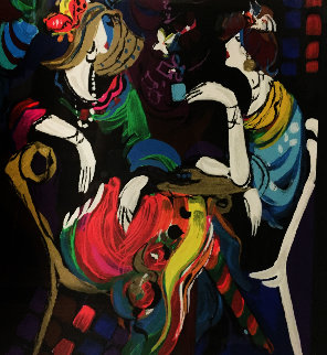 Bonne Soire 2000 Limited Edition Print by Isaac Maimon