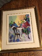 Cafe Caze II 1990 Limited Edition Print by Isaac Maimon - 1