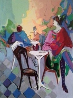 Cafe Caze II 1990 Limited Edition Print - Isaac Maimon