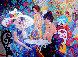 Cafe La Parisienne 2000 40x50 Original Painting by Isaac Maimon - 0