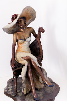Camille Bronze Sculpture 19 in  Sculpture by Isaac Maimon