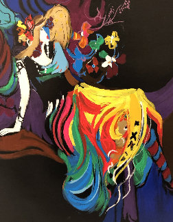 Paris Nights: Suite of 4   Limited Edition Print by Isaac Maimon