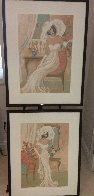 Camille and Candide: Le Cotillion Suite 1996 Set of 2 Limited Edition Print by Isaac Maimon - 8