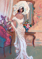 Camille and Candide: Le Cotillion Suite 1996 Set of 2 Limited Edition Print by Isaac Maimon - 6