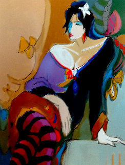 Monique 48x38 Super Huge Limited Edition Print - Isaac Maimon