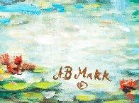 Fall Leaves 32x39 Original Painting by A.B. Makk - 4
