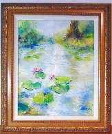 First Flowers 26x22 Original Painting by A.B. Makk - 0