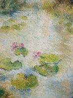 First Flowers 26x22 Original Painting by A.B. Makk - 4