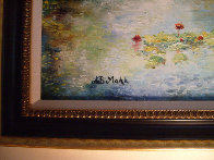 First Lillies 21x25 Original Painting by A.B. Makk - 2