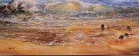 Calm of Day 1990 40x60 Super Huge Original Painting by A.B. Makk - 3
