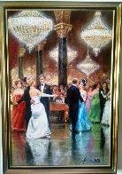 Unforgettable 1991 40x28 Super Huge Original Painting by Americo Makk - 1
