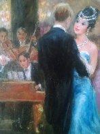 Unforgettable 1991 40x28 Super Huge Original Painting by Americo Makk - 3