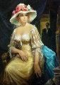 Spring 49x39 Original Painting - Americo Makk