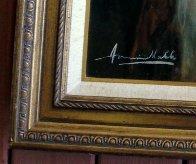 Pearl Earring 47x37 Super Huge Original Painting by Americo Makk - 2