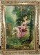 Untitled Tree Swing  Original Painting by Americo Makk - 1