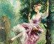 Untitled Tree Swing  Original Painting by Americo Makk - 2