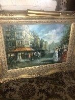 Carriage Trade 37x50 Super Huge Original Painting by Americo Makk - 2