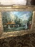 Carriage Trade 37x50 Original Painting by Americo Makk - 2