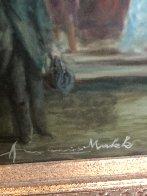 Carriage Trade 37x50 Super Huge Original Painting by Americo Makk - 4