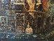 Untitled (Paris Scene) 33x57 Original Painting by Americo Makk - 7