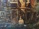 Untitled (Paris Scene) 33x57 Original Painting by Americo Makk - 5