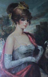 Sophia 46x34 Original Painting - Americo Makk
