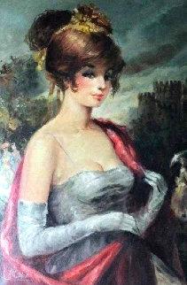 Sophia 47x35 Original Painting - Americo Makk