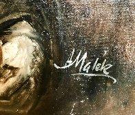 Drinker 34x28 Original Painting by Americo Makk - 4