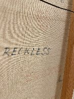 Reckless 1975 31x55 Huge Original Painting by Americo Makk - 9