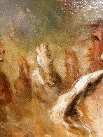 Reckless 1975 31x55 Huge Original Painting by Americo Makk - 2