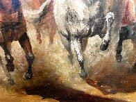 Reckless 1975 31x55 Huge Original Painting by Americo Makk - 4