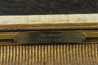 Reader 1980 38x32 Original Painting by Americo Makk - 3