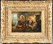 Three Men 25x29 Original Painting by Americo Makk - 1