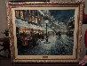 Roasting Chestnuts 24x30 Original Painting by Americo Makk - 1