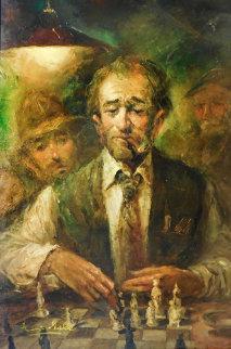 Assurance 43x31 Original Painting - Americo Makk