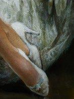 Satin Boudoir 32x56 Original Painting by Americo Makk - 5