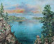 Emerald Bay 24x30 Lake Tahoe Ca 24x30 Original Painting by Eva Makk - 0
