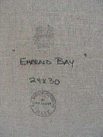 Emerald Bay 24x30 Lake Tahoe Ca 24x30 Original Painting by Eva Makk - 3