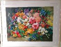 Blueberries Huge 43x53 Limited Edition Print by Eva Makk - 1
