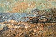 Hanauma Bay, Oahu, Hawaii 24x36 Original Painting by Eva Makk - 0