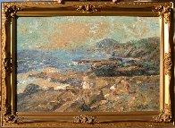 Hanauma Bay, Oahu, Hawaii 24x36 Original Painting by Eva Makk - 1