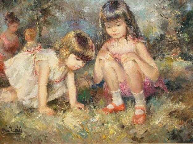 Wonder 24x36 Original Painting by Eva Makk