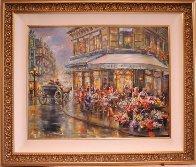 Paris I Love 34x40 Huge Original Painting by Eva Makk - 1