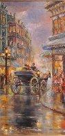 Paris I Love 34x40 Huge Original Painting by Eva Makk - 3