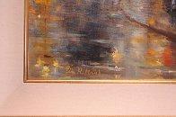 Paris I Love 34x40 Huge Original Painting by Eva Makk - 4