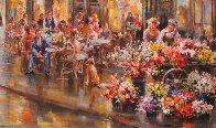 Paris I Love 34x40 Huge Original Painting by Eva Makk - 2