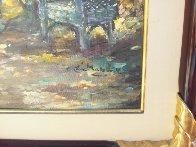 Rocking Chair 41x35 Super Huge Original Painting by Eva Makk - 4