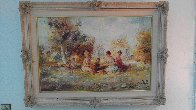 Restful 44x32 Super Huge Original Painting by Eva Makk - 2